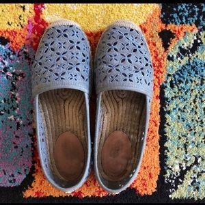 🌼Shoe Sale🌼 Blue Cutwork Loafer on Sale